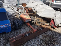 WHEEL TRACTOR BUCHER M 300 K WITH ACCESSORIES